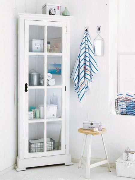 Ordnung im Badezimmer muss sein Diy organization, Organizations - badezimmer regal schmal