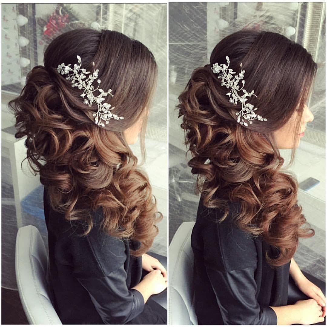 Antonina Romanova Wedding Hair In 2019 Peinados Para
