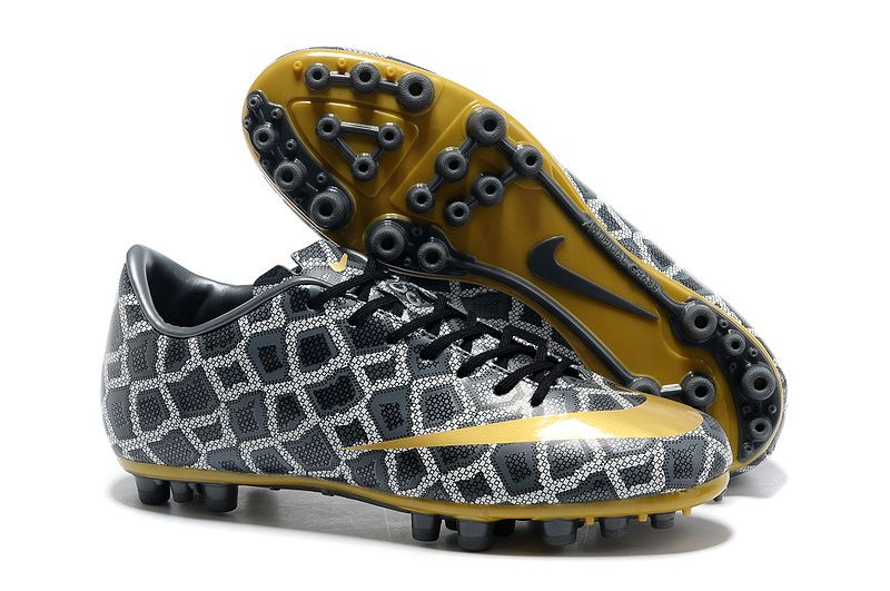 best price delicate colors best price Nike Mercurial Vapor XI CR FG Bottes Serpent Gris Jaune ...