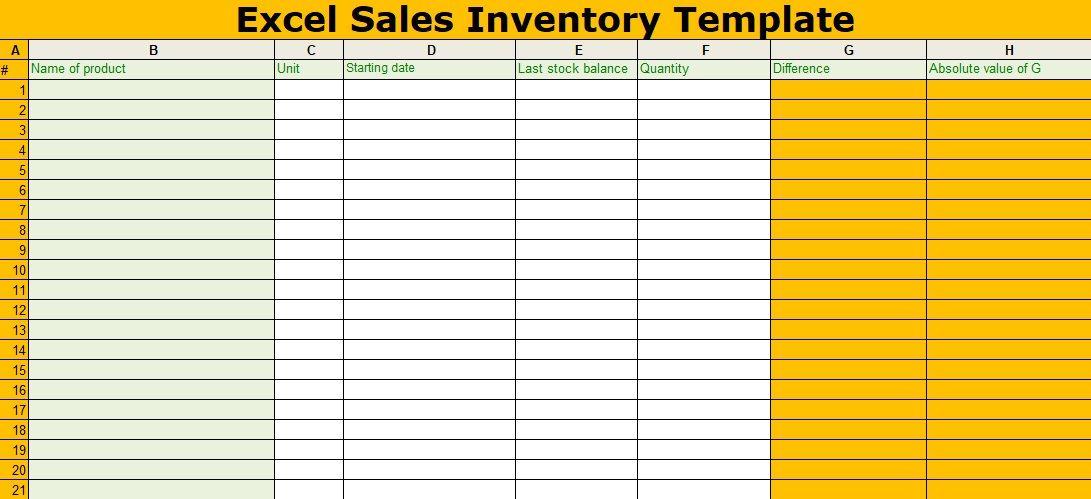 Spreadsheet Pinterest - spreadsheet template inventory
