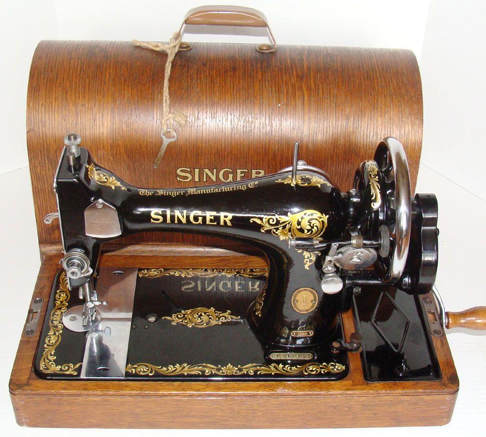 1955 Singer model 128 Rococo Decals