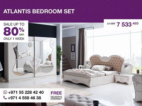 Outfit Your Bedroom With Opulence The Atlantis Bedroom Set Is A Interesting Atlantis Bedroom Furniture