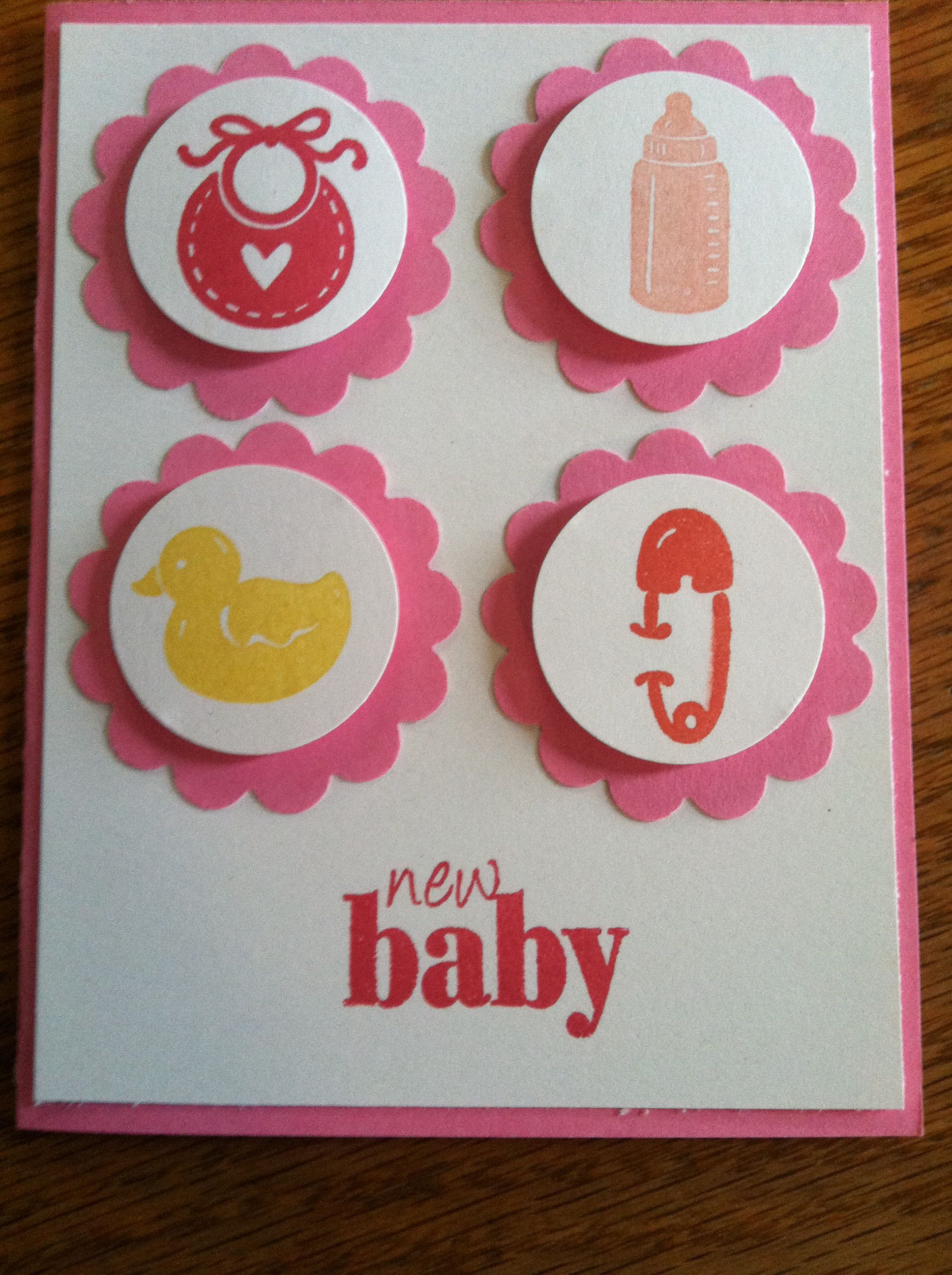 Stampin Up Baby Shower Card | Baby is born ;) | Pinterest | Baby ...