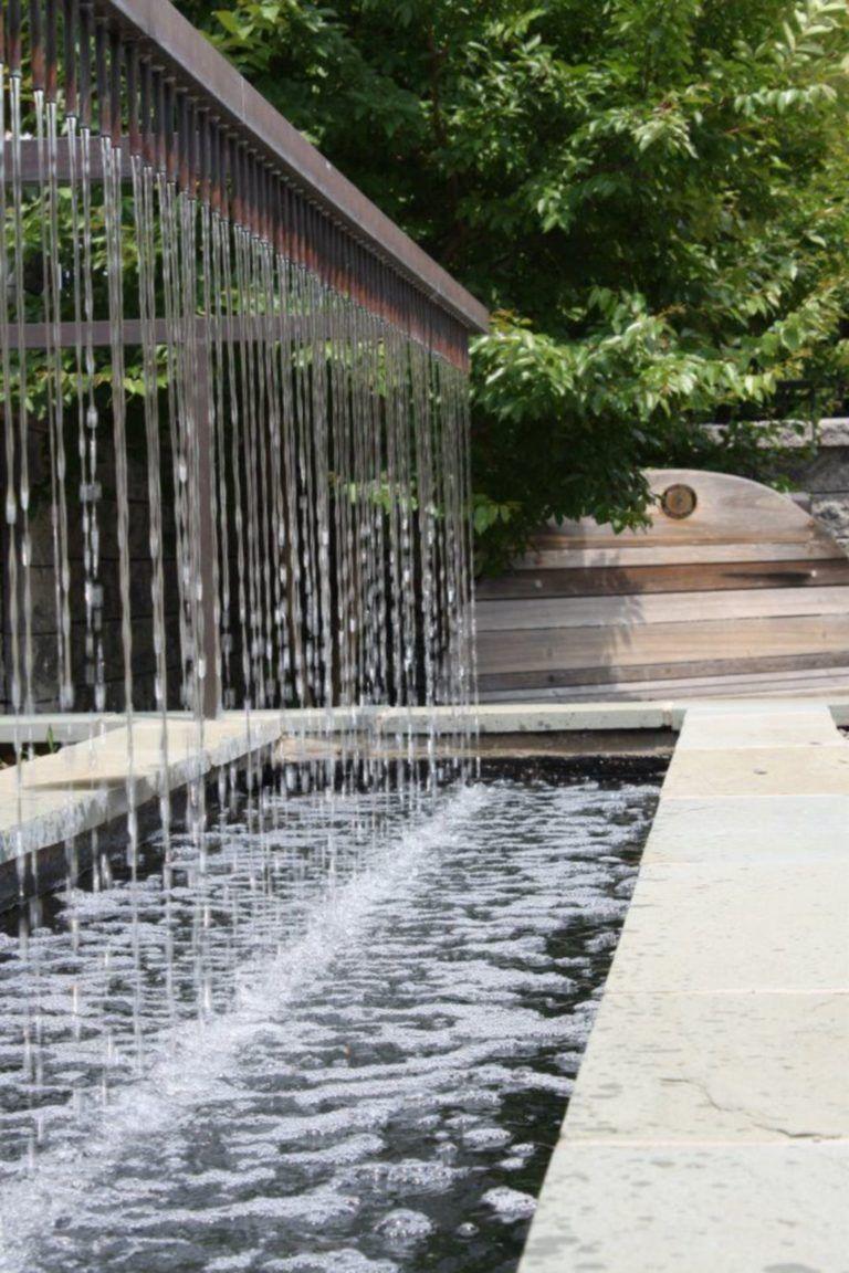 Outdoor Water Wall 31 Waterfalls Backyard Fountains Outdoor Water Fountains Outdoor Minimalist modern outdoor water wall fountain