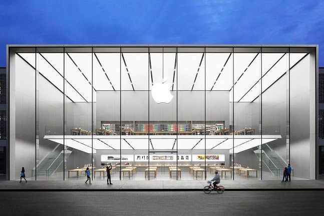 A New Apple Store Is Rumored To Open In South Korea Right Next To The Samsung Headquarters Apple Store Architecture Foster Partners
