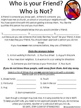 Friends Social Skills Worksheets | Friendship, Lesson plans and ...