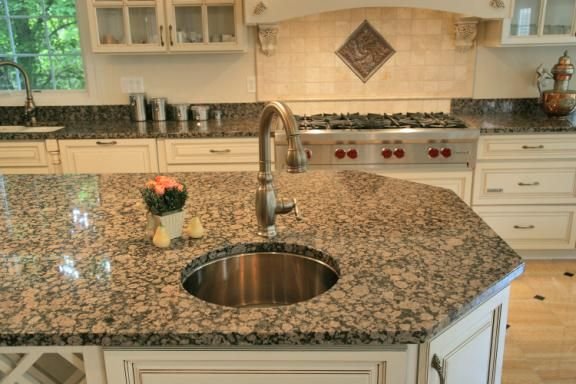 Charming Baltic Brown Granite Kitchen