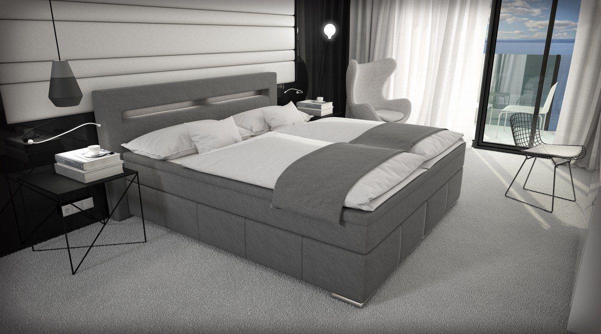Bei Diesem Boxspringbett Schlafen Sie Wie Auf Wolke7 Das Luxuriose Bett Essen Verfugt Uber Zwei Hochwertige Sofa Gunstig Kaufen Boxspringbett Sofa Design