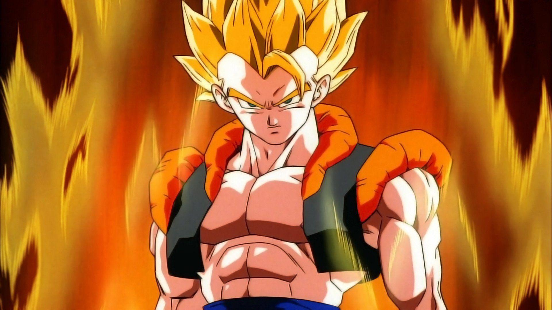 Dragon Ball Z Uma Nova Fusão! Goku e Vegeta imagens