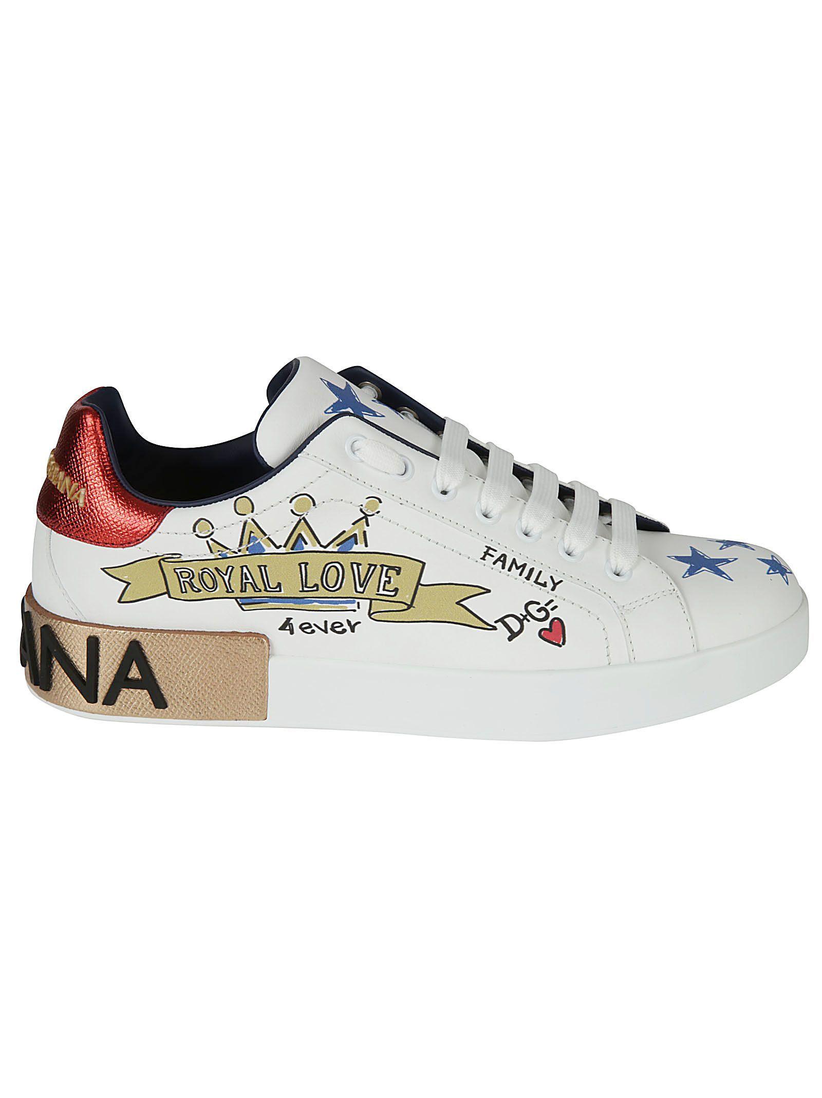 89a69f1d DOLCE & GABBANA PORTOFINO SNEAKERS. #dolcegabbana #shoes # High End  Mens Shoes