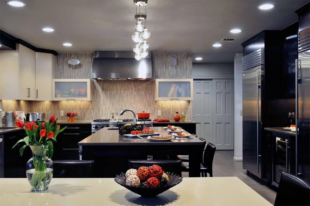 This Modern Kitchen Design Spices Things Up Kitchen Designs Modern Kitchen  Design Trends, Modern Kitchen