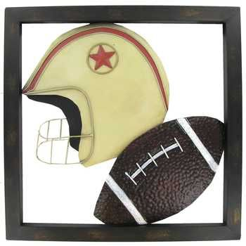Football Metal Wall Art | Bedroom for the boys.⚽ ⚾ | Pinterest ...