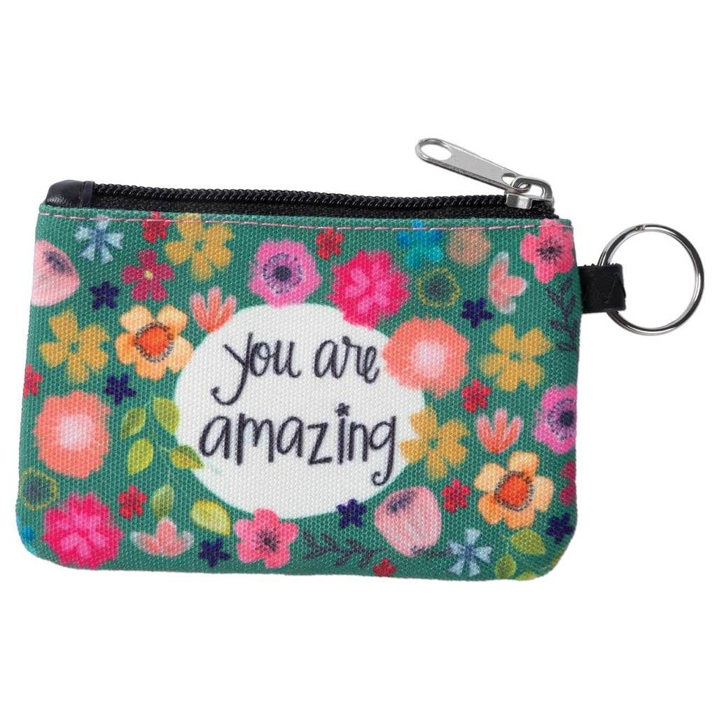 You Are Amazing Id Wallet Keychain Keychain Wallet Id Wallet Wallet