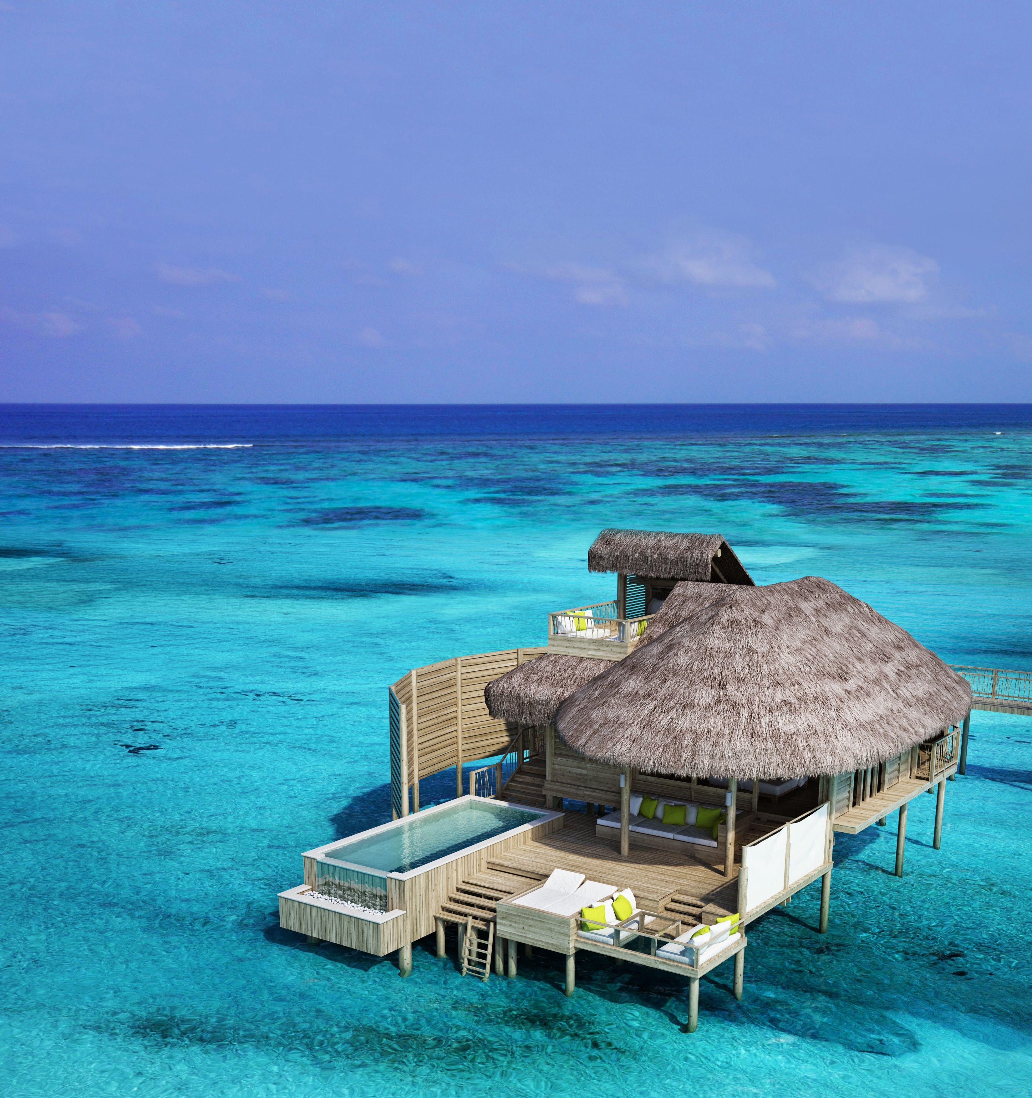 Luxury Pool Villas Maldives: Laamu Water Villa With Pool Six Senses Laamu Maldives