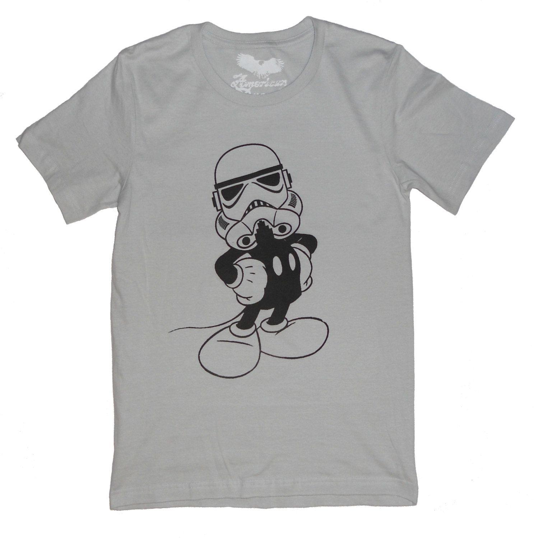 Disney Star Wars Tshirt Mashup Imperial Mickey Men's
