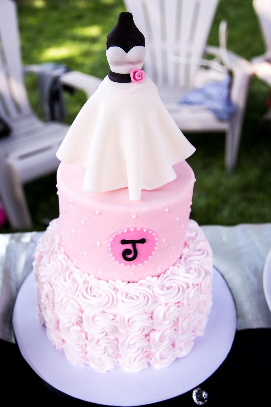 Wedding Shower Dress Cake | Bridal-Shower-Cake-Dress-Decor.jpg | Fun ...