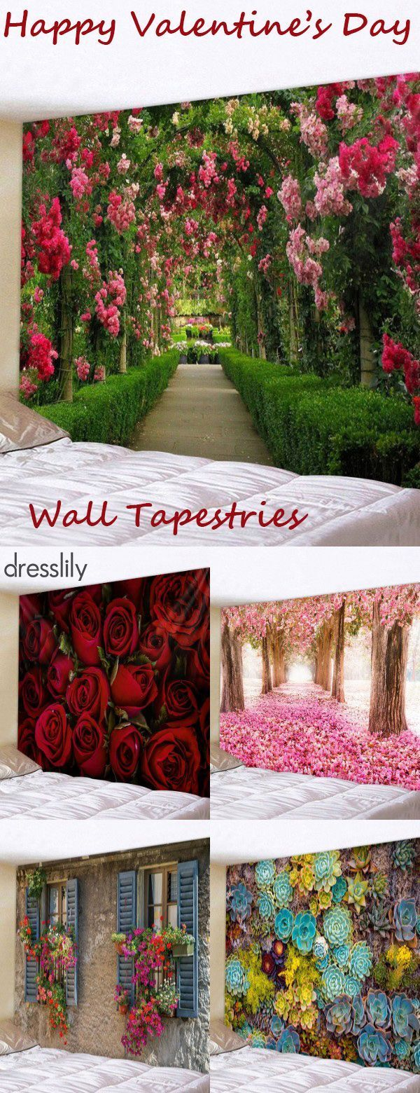 Inspiration and ideas for wall DIY. The art of wall tapestry modern wall decor ideas. #dresslily #snow #woodenboard #bricks #homedecor...  #Art #decor
