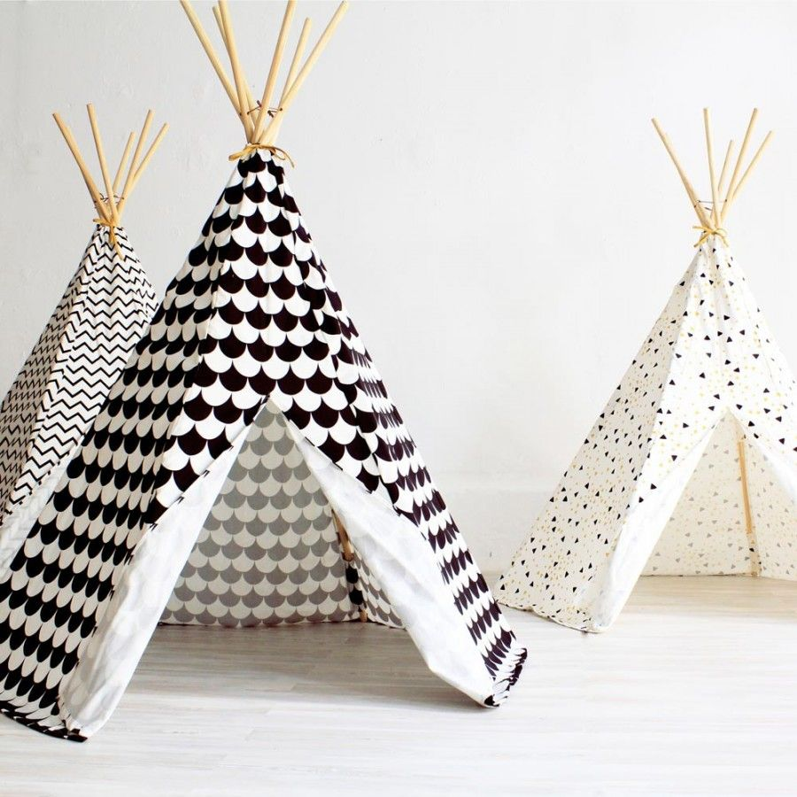 tipi black scales nobodinoz basteln pinterest tipi. Black Bedroom Furniture Sets. Home Design Ideas