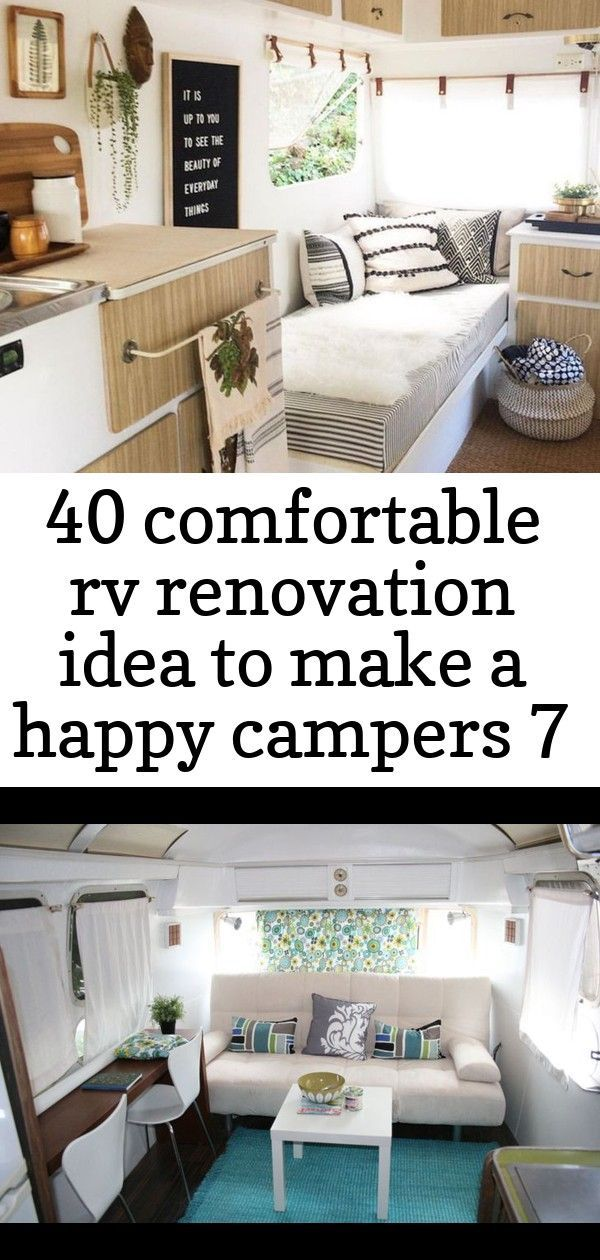 10+ Cozy Camper Interior Ideas for Fantastic Holiday | DECOR IT'S Cheap And Easy Ways To Upgrade A