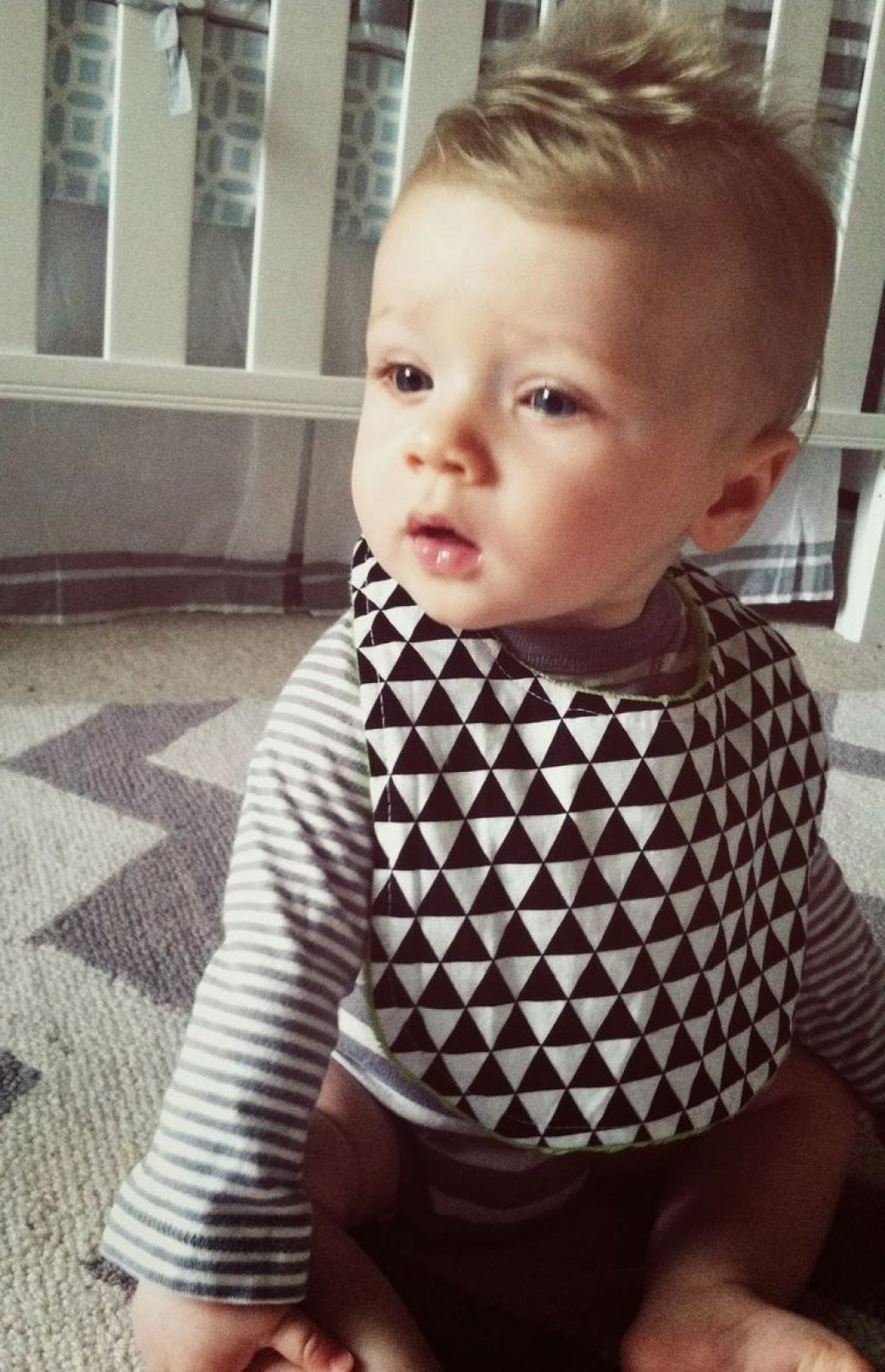 one year old boy hairstyles   fade haircut in one year old