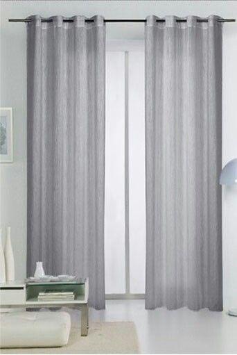 21 Cortinas para sala gris