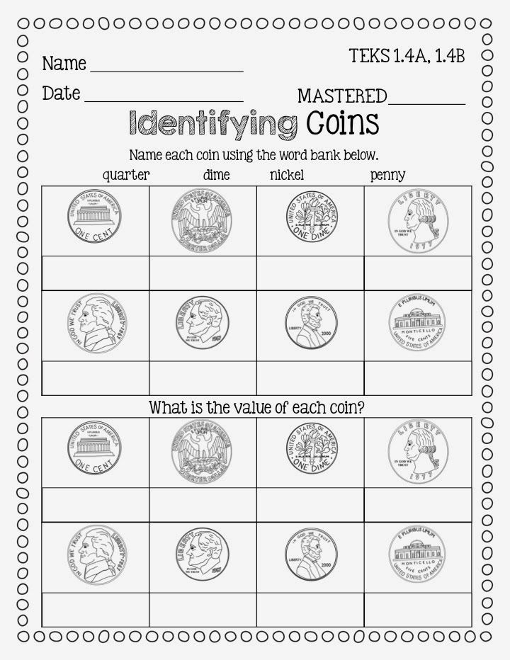 Flying High In First Grade: Finishing Up Money {freebie} and TpT ...