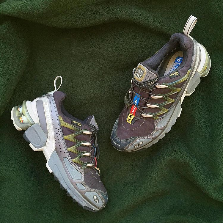Salomon Gcs Comp 2004 Gore Tex Xcr Upper No Box Size Us7 5w Uk6 24 5cm 230 Aud Dm To Purchase Online Soon Gore Tex Hiking Boots Boots
