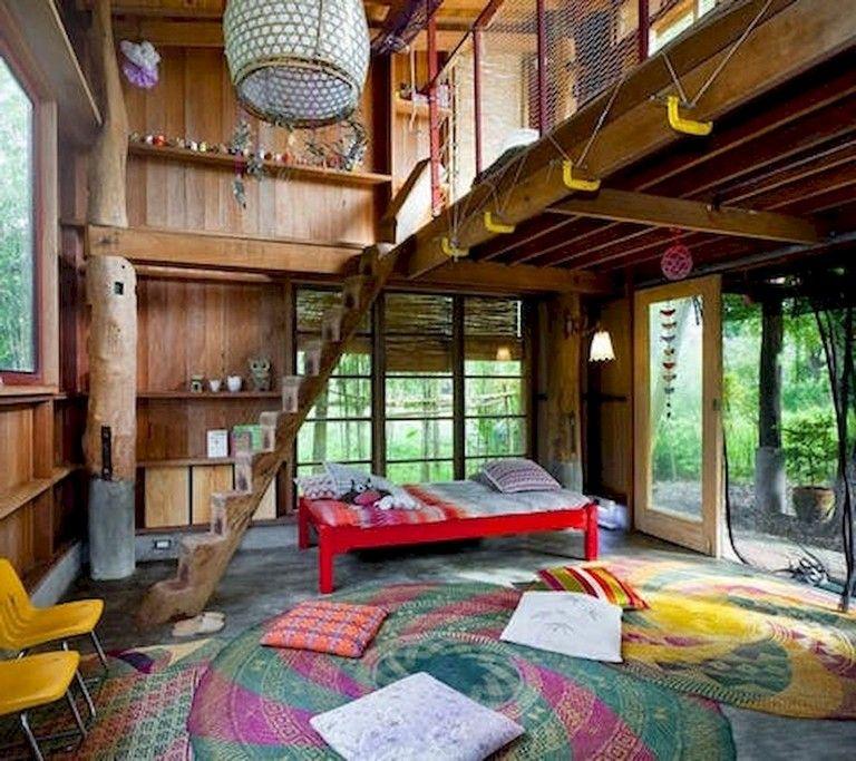 65 Good Small And Unique Tiny House Living Design Ideas