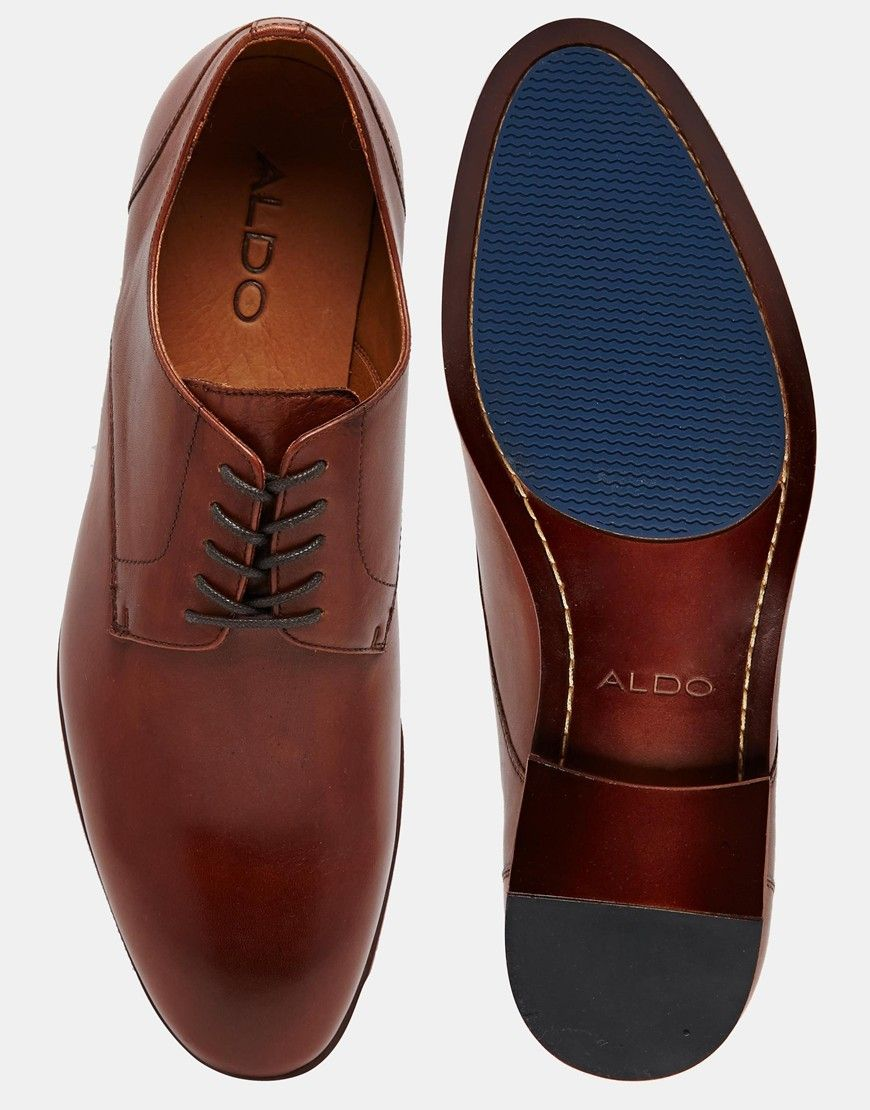 343faa5a8fd ALDO Shan Leather Derby Shoes | Father's Day in 2019 | Shoes, Aldo ...