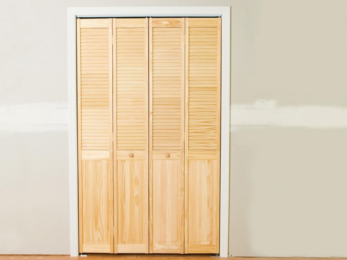 How Todiy Closet Door With Folding Hooks Inspirations Ideas