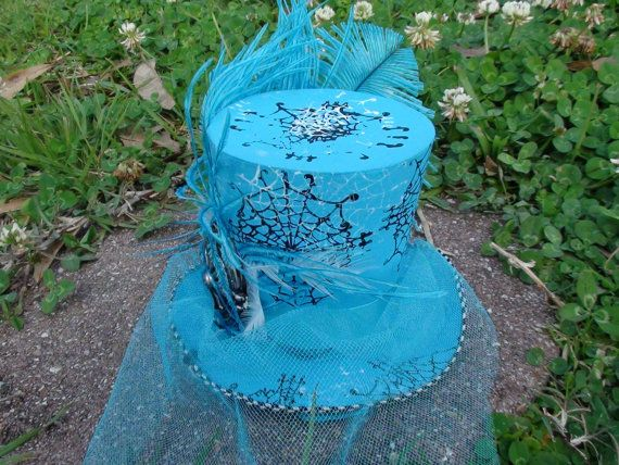 Mini top hat by YoHatterHatter on Etsy, $20.00