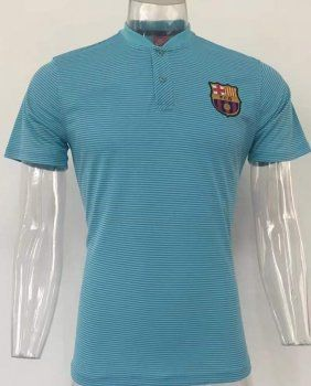 2017 Polo Jersey Barca Replica Blue Shirt [AFC899]