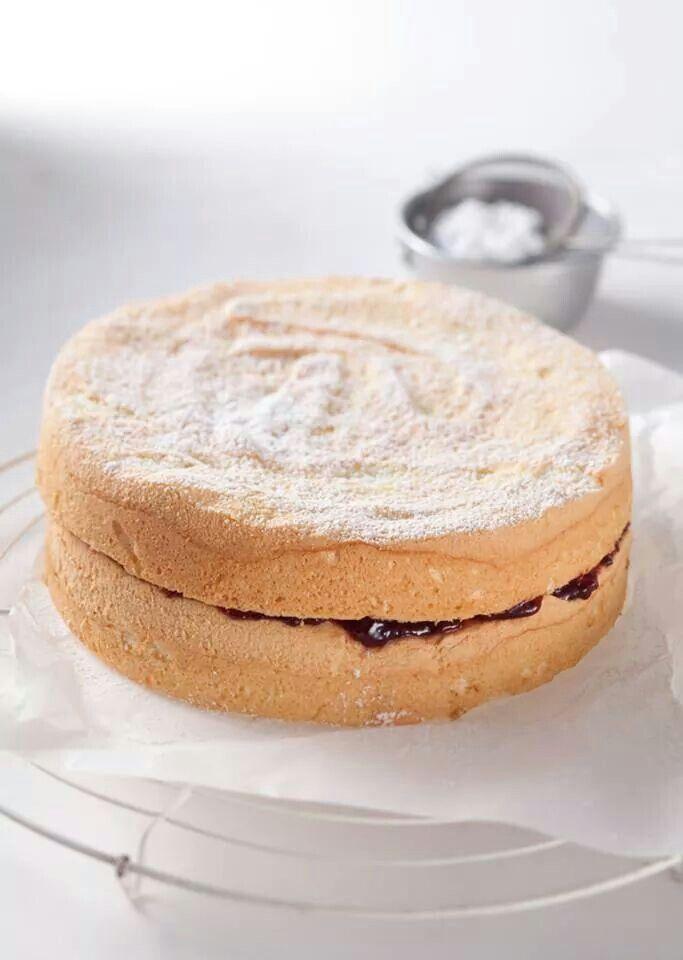Mmmmmm! Vanilla spongecake