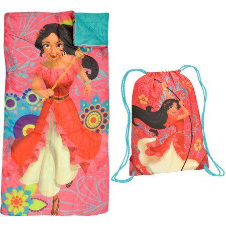 fcc07376958 Disney Elena of Avalor Sling Bag Slumber Set