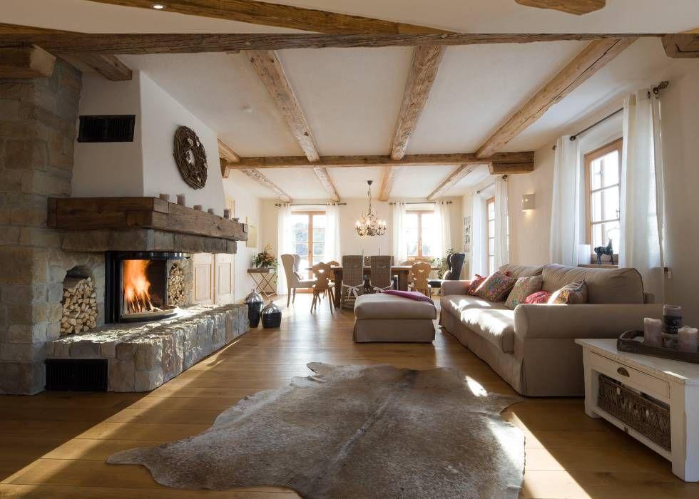 wohnideen interior design einrichtungsideen bilder landhausstil wohnzimmer und leben. Black Bedroom Furniture Sets. Home Design Ideas
