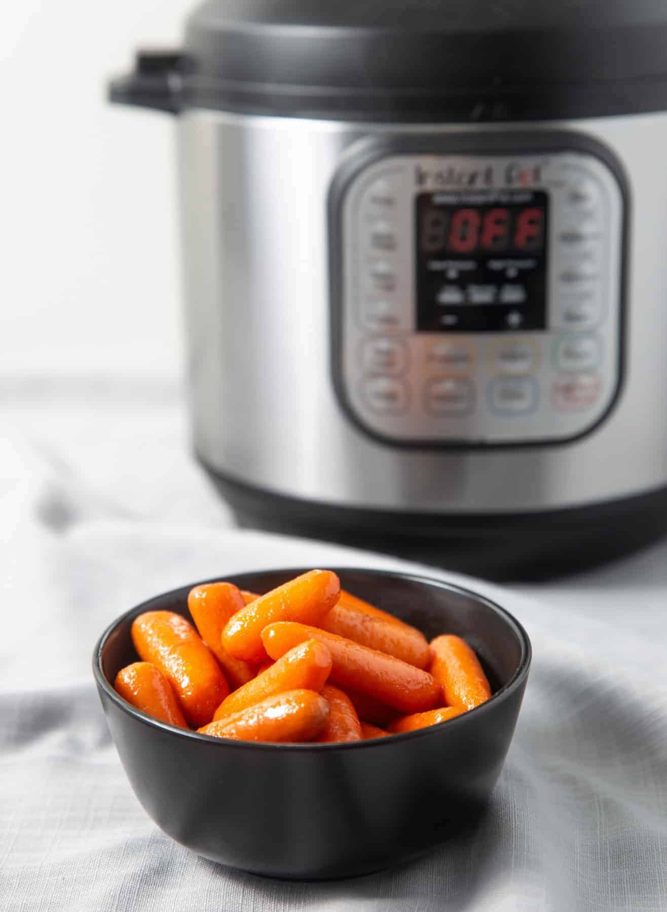 Instant pot carrots buttery sweet tested by amy