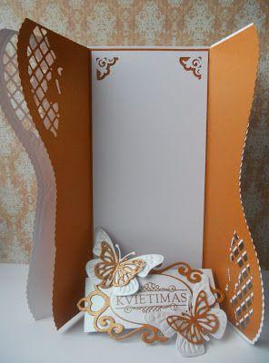 "Popieriniai stebuklai: Projektas ""Stilingos vestuvės"" Nr.1: Kvietimas / СП ""Стильная свадьба"" № 1: Приглашение"