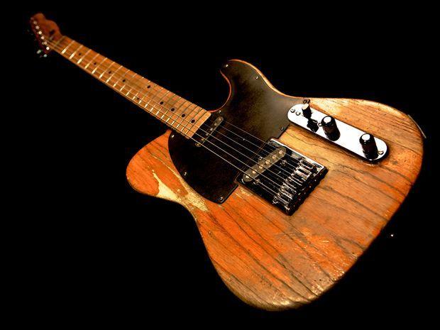 Bruce Springs 1953 Fender Esquire Telecaster Framed Print By Lisa Johnson
