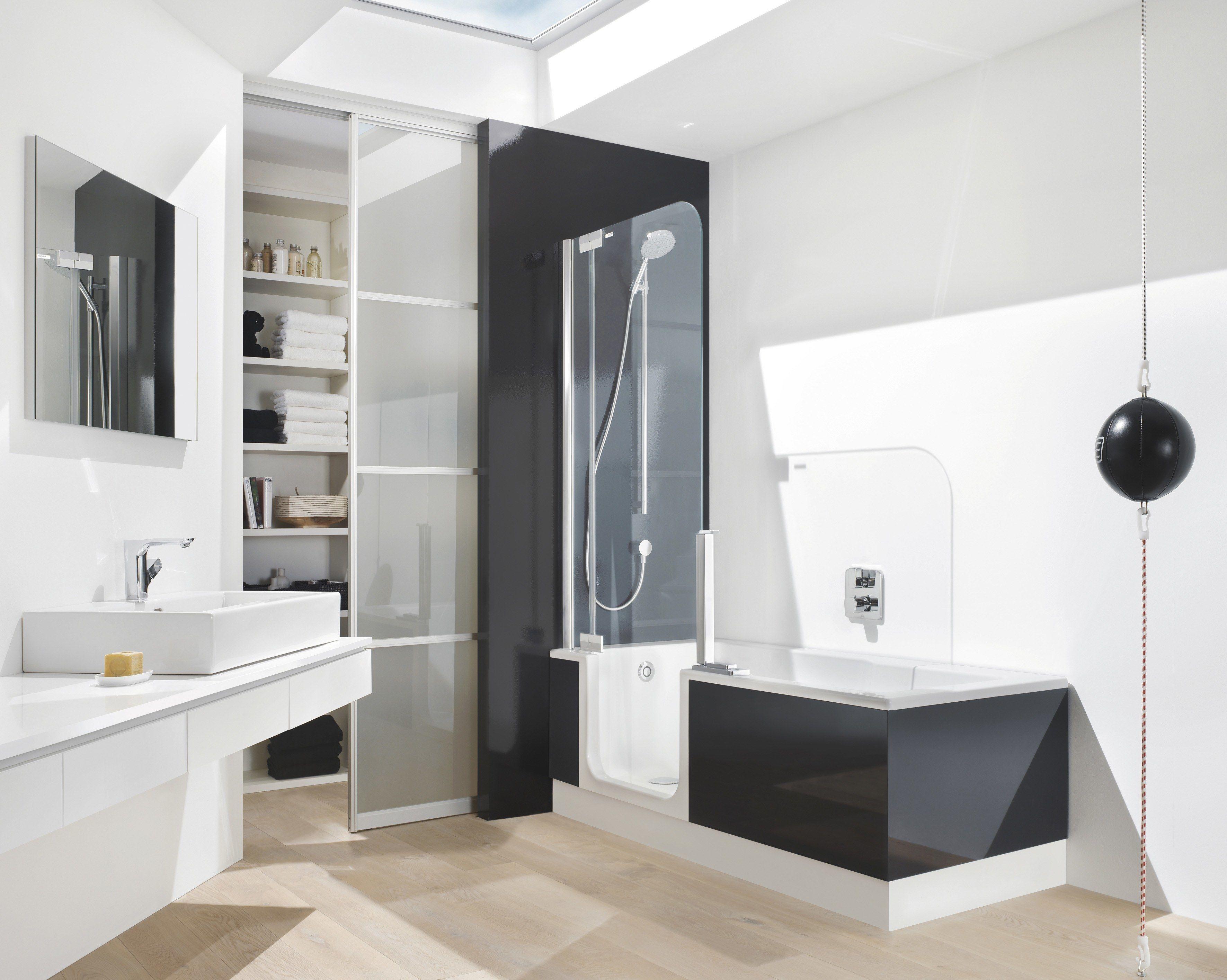 Erstaunliche Badezimmer Mit Wanne Und Dusche Badewanne