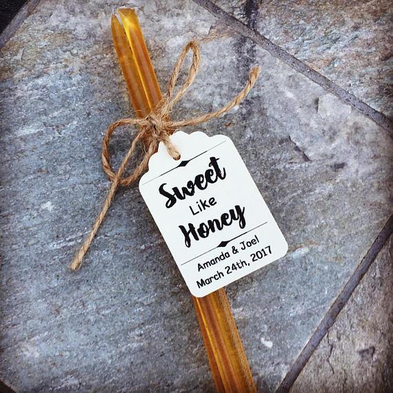 Sweet Like HONEY Wedding Favor KITS. Select Amount 25-100