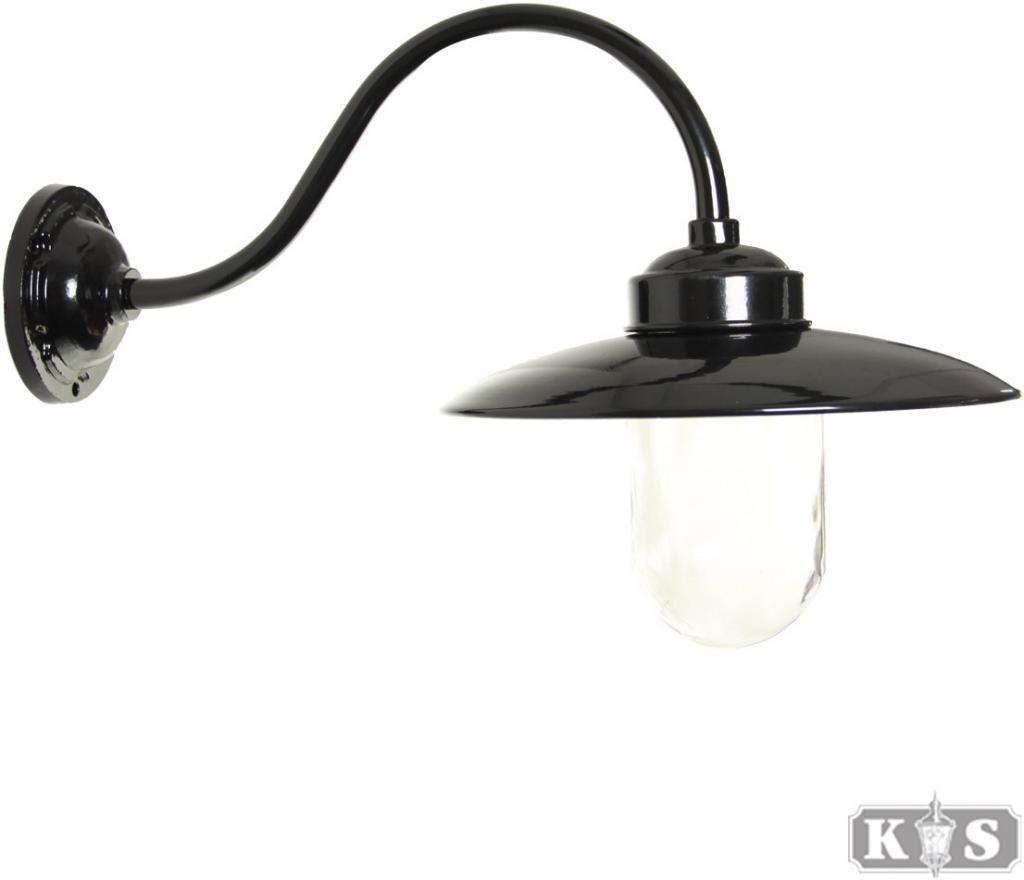 Buitenlamp muurlamp Solingen - Zwart - KS Verlichting | Lights