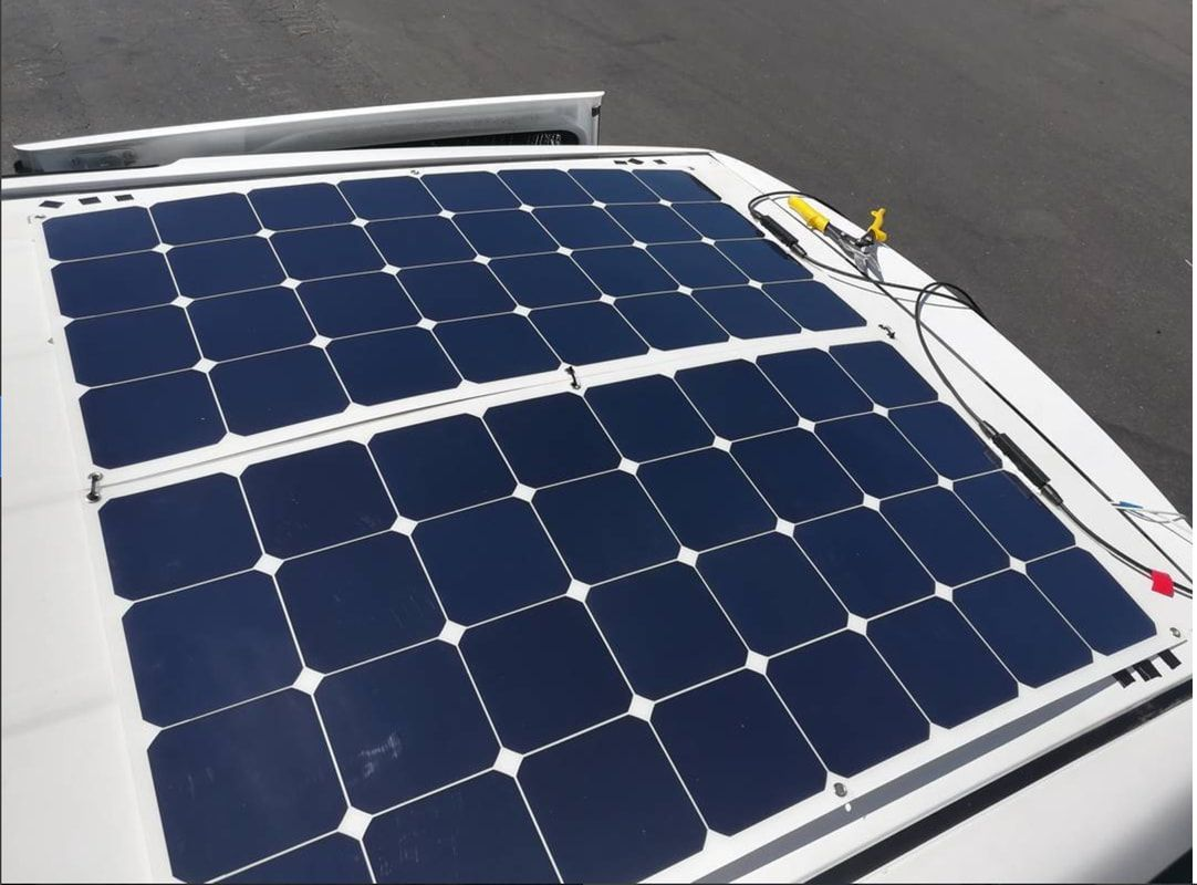 Solar Panel Mounts For Vehicle Mounted Systems Mobile Solar