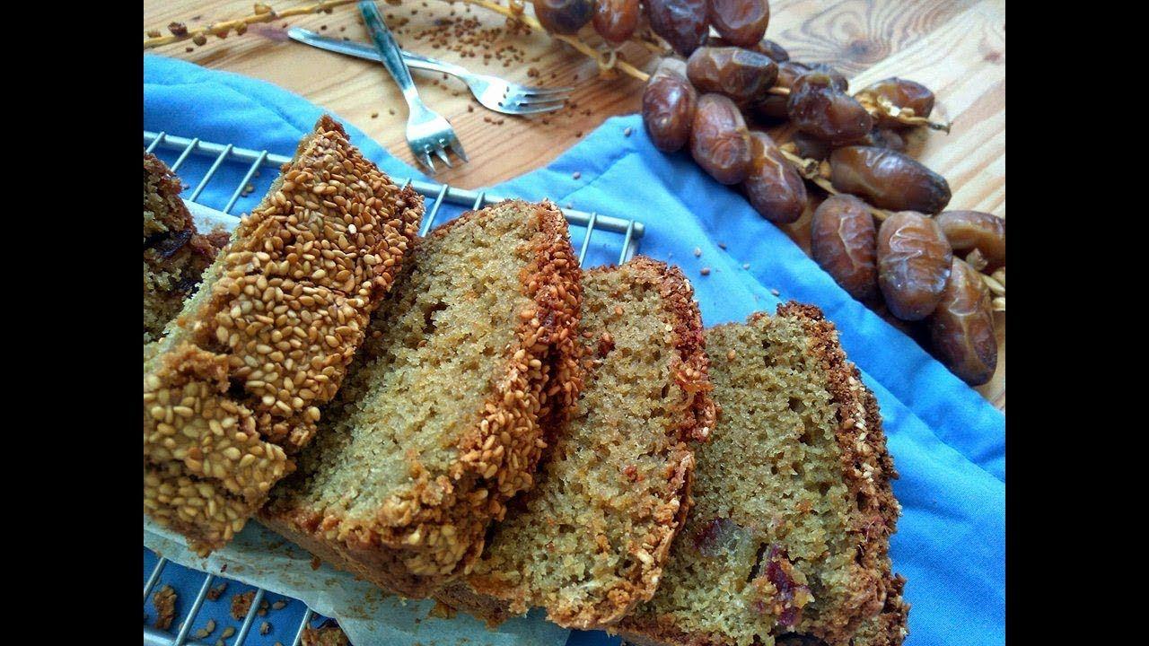 خبزة الدرع بالتمر او ما يعرف بحبوب الدخن Food Bread Banana Bread