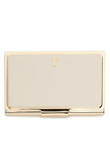 Kate Spade New York One In A Million Business Card Holder Nordstrom Personalized Business Card Holder Business Card Holders Kate Spade Card Holder
