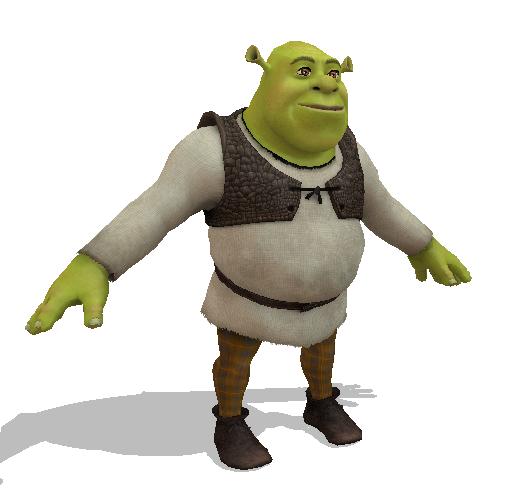 Image Result For Shrek T Posing Shrek