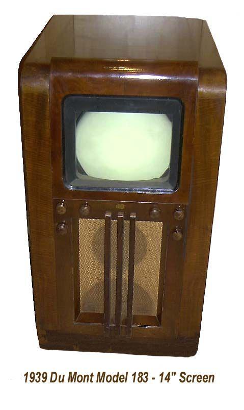 1948 Dumont Model Television Set Feeling Nostalgic In