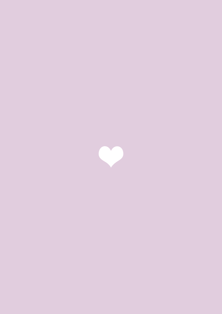 Lilac Lavender Mini White Heart Iphone Phone Wallpaper