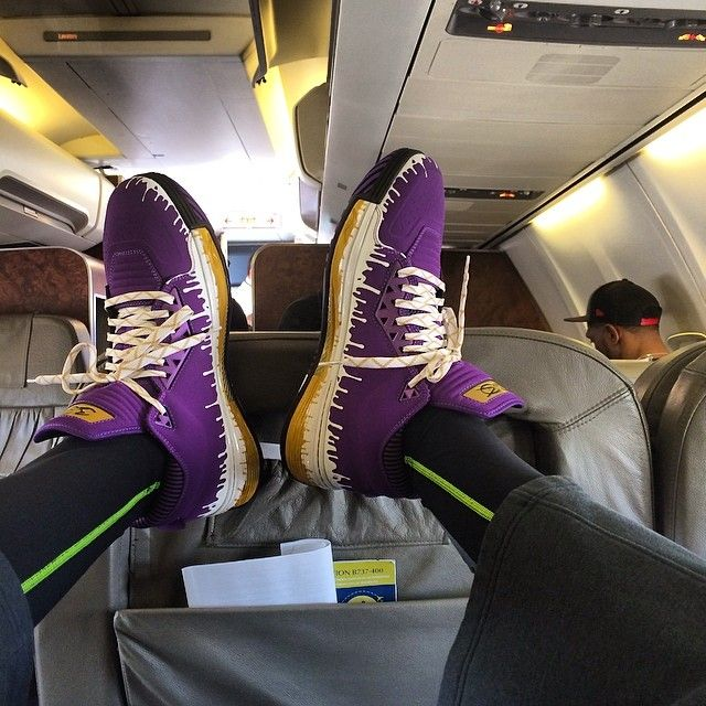 Li-Ning Way of Wade 2 Purp Drip