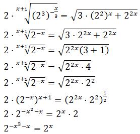Ecuaciones Exponenciales Ejemplos Y Ejercicios Resueltos Eso Y Bachiller Curiosidades Matematicas Matematicas Universitarias Matematicas Interactivas