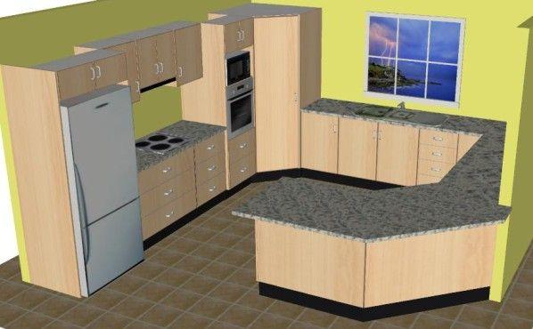 Small U Shaped Kitchens | ... Com Modern Shaped Kitchen Html Modern U